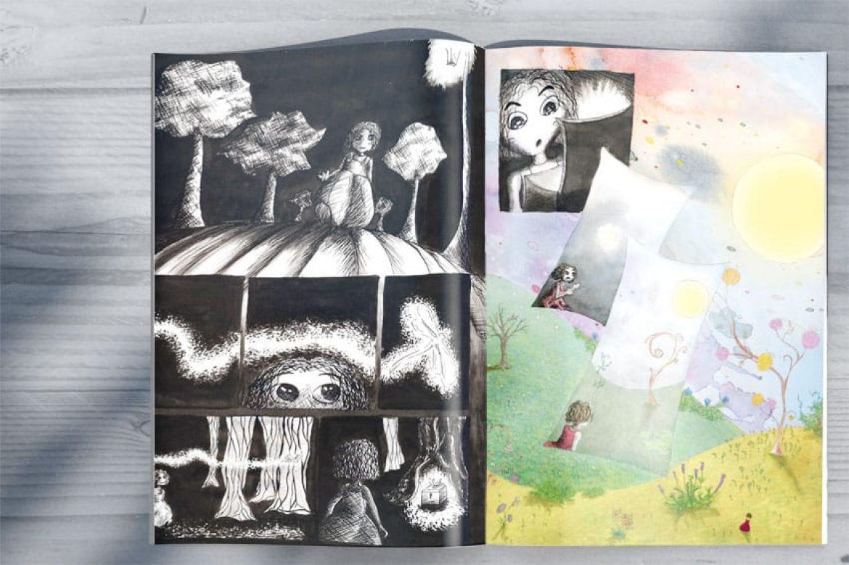 Illustrations/dessins traditionnels freelance savoie isère