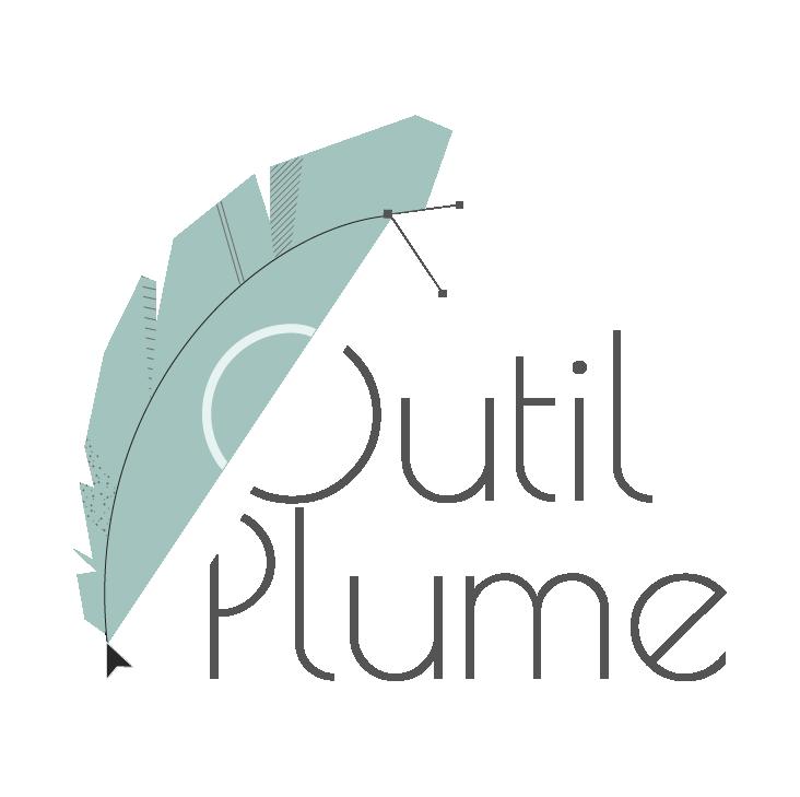 Logo Outil-Plume, graphiste photographe indépendant en Rhône-alpes, Savoie et isère, Chambéry Genoble et Lyon