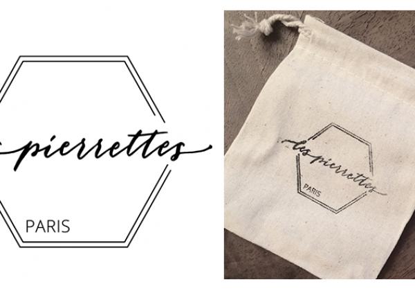 Logo de la créatrice de bijoux Les Pierrettes